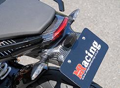 KTM 125DUKE フェンダーレスキット 綾織りカーボン製 MAGICAL RACING(マジカルレーシング)