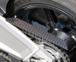 KTM 1190 RC8 チェーンガード 綾織りカーボン製 MAGICAL RACING(マジカルレーシング)