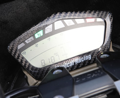 DUCATI Streetfighter メーターカバー 綾織りカーボン製 MAGICAL RACING(マジカルレーシング)