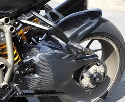 DUCATI Streetfighter リアフェンダー 綾織りカーボン製 MAGICAL RACING(マジカルレーシング)