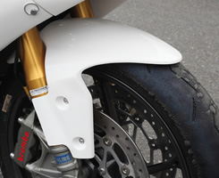 TRIUMPH DYTNA675(14年) フロントフェンダー FRP製・綾織りカーボン製 MAGICAL RACING(マジカルレーシング)