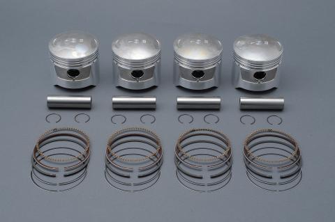 Z1 キャスティングピストンキット Z1用 Φ66.5 0.5mmオーバー エムテック中京(M-TEC中京)