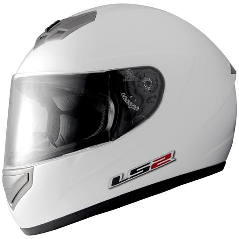 LS2 MARS(マーズ)パールホワイト Lサイズ(59~60cm) フルフェイスヘルメット MHR