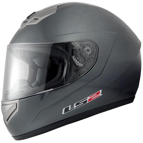 LS2 MARS(マーズ)グレイメタリック Lサイズ(59~60cm) フルフェイスヘルメット MHR