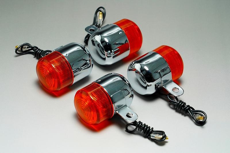 6VモンキーウインカーZ50J初期型タイプメッキ オレンジ ミニモト MINIMOTO 現品 年中無休