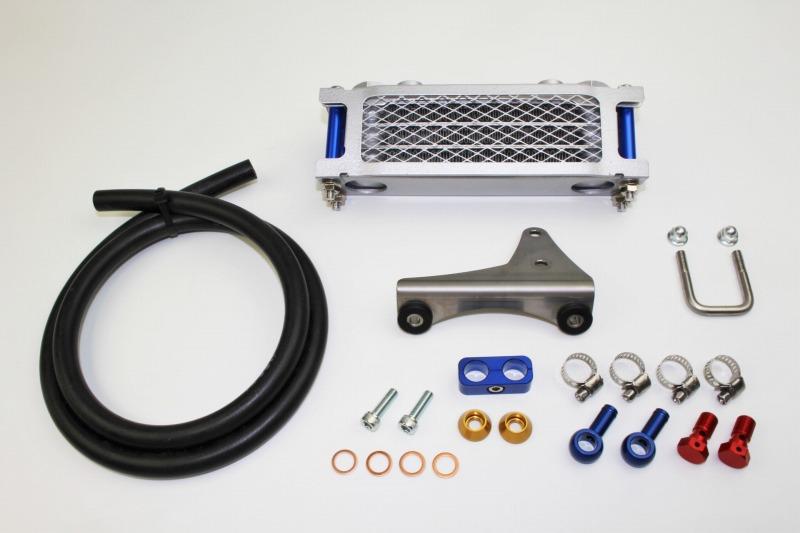 APE50(エイプ50) プロテクトオイルクーラーセット4段コア MINIMOTO(ミニモト)