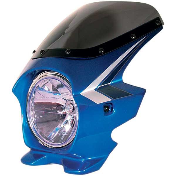 Nプロジェクト ブラスター2 STDスクリーンビキニカウル CB400SF HYPER VTEC/Spec2 キャンディフェニックスブルー (ストライプ)