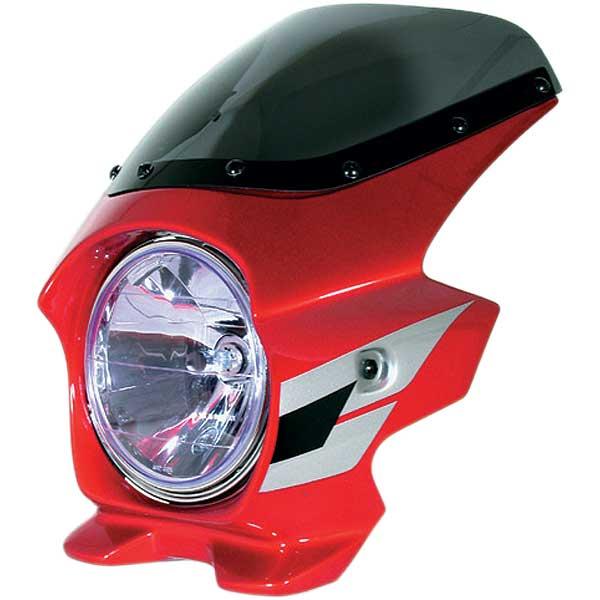 Nプロジェクト ブラスター2 STDスクリーンビキニカウル CB400SF HYPER VTEC/Spec3 キャンディグローリーレッドU (ウイングライン)
