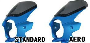 Nプロジェクト ブラスター2 STDスクリーンビキニカウル CB400SF 08 グリントウェーブブルーメタリック