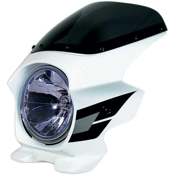 Nプロジェクト ブラスター2 エアロスクリーンビキニカウル CB400SF HYPER VTEC/Spec3 パールフェイドレスホワイト (ウイングライン)