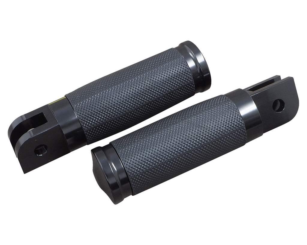 カンツァータイプフットペグ ブラック 18年- ソフテイル用 フロント NEO FACTORY(ネオファクトリー)