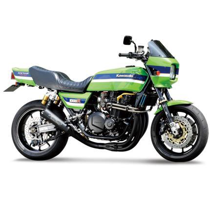 4in1 手曲げスチールメガホンEXマフラー NITRO RACING(ナイトロレーシング) Z1000J/R