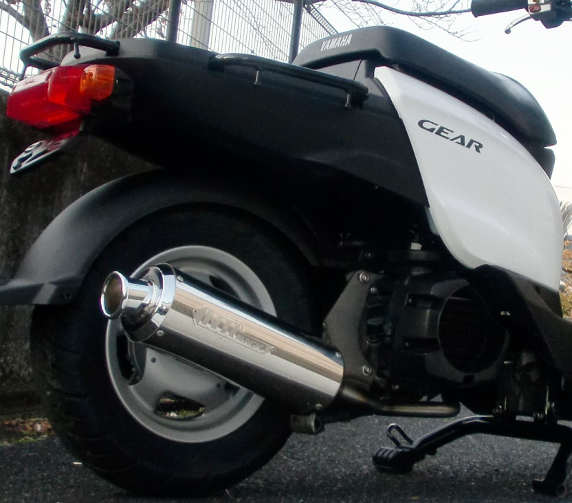 ギア(GEAR)4ストローク UA07J/O2センサー車 V-SHOCK マフラー クリア NRマジック