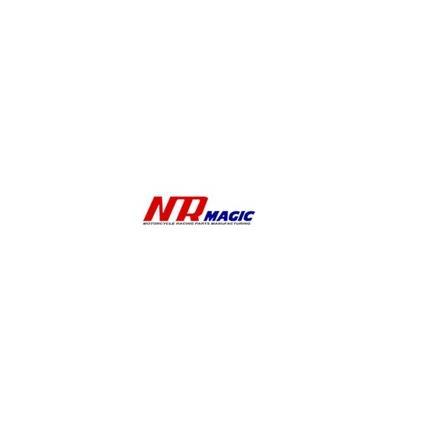 サイコIIIマフラー(ボディ:クリア/サイレンサー赤) NRマジック JOG系(2スト)排ガス規制前エンジン