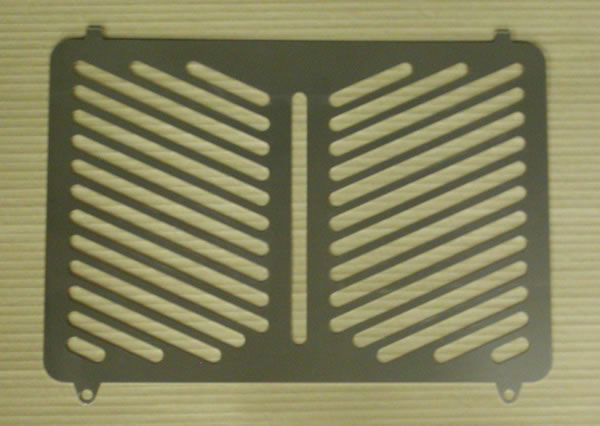 ZRX1100/1200(~08年) ラジエターカバー Powerbronze(パワーブロンズ)