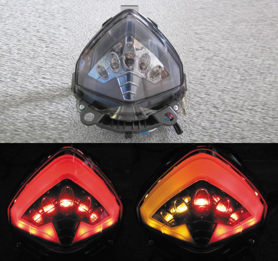 CBR400R(13~15年) インテグレート・テールライト(ウィンカー内蔵式) ODAX(オダックス)