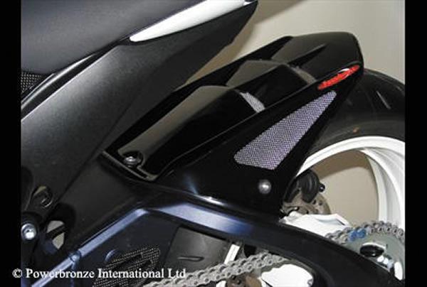 GSX-R600(11~14年) Hugger メッシュド・インナーフェンダー(ブラック/シルバーM タイプB) Powerbronze(パワーブロンズ)