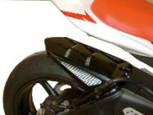 YZF-R6(06~14年) Hugger メッシュド・インナーフェンダー(ブラック/シルバーM タイプB) Powerbronze(パワーブロンズ)