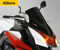 Z1000(10~13年) ネイキッド・スクリーン (ダーク・スモークカラー) Powerbronze(パワーブロンズ)