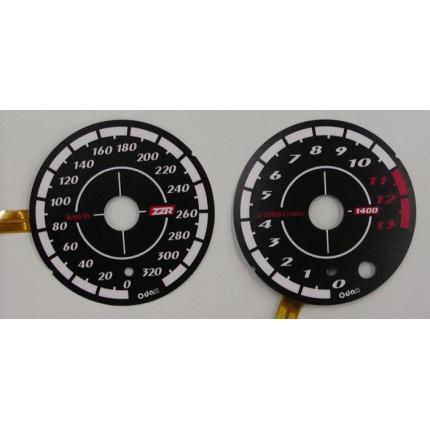 ELメーターパネル(06-11)スペシャルブラックバージョン ODAX(オダックス) ZZR1400