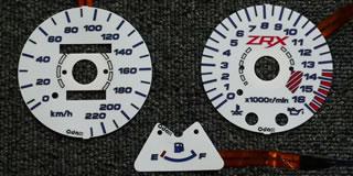 ELメーターパネル(94-09) ODAX(オダックス) ZRX400