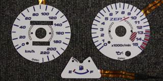 ELメーターパネル(96-09) ODAX(オダックス) ゼファー400(ZEPHYR)