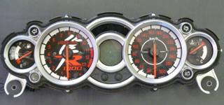 ELメーターパネル(08-11)スペシャルブラックバージョン ODAX(オダックス) GSX1300R(隼)