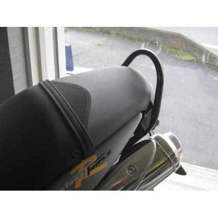 TRIUMPH StreetTriple 10~12年 グラブレール スチール製 ブラック レンテック(RENNTEC)