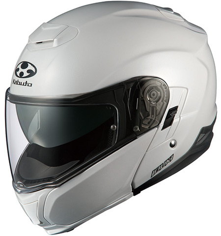 IBUKI(イブキ) パールホワイト L(59-60cm) システムヘルメット OGK