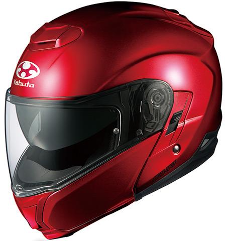 IBUKI(イブキ) シャイニーレッド M(57-58cm) システムヘルメット OGK