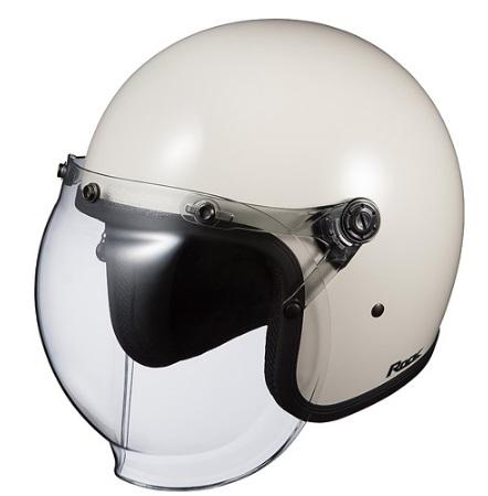 ROCK(ロック)オフホワイト(57-59cm)ジェットヘルメット OGK