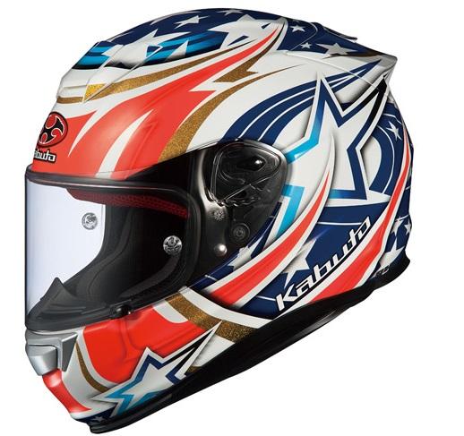 RT-33 ACTIVE STAR ホワイト Mサイズ フルフェイスヘルメット OGK