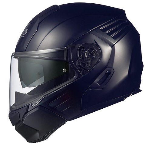 KAZAMI(カザミ)フラットブラック Lサイズ システムヘルメット OGK