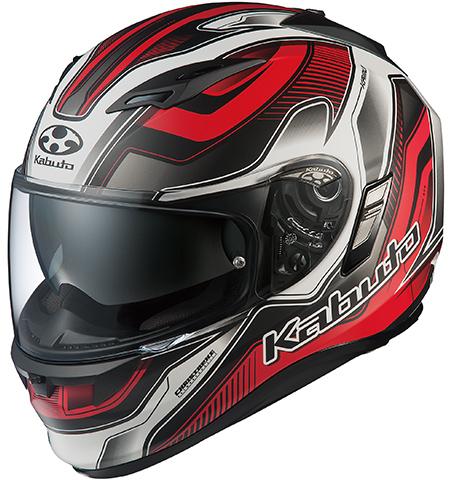 カムイ2 ハマー フルフェイスヘルメット フラットブラックレッド XLサイズ OGK