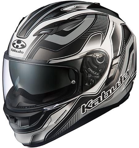 カムイ2 ハマー フルフェイスヘルメット フラットブラックシルバー Sサイズ OGK