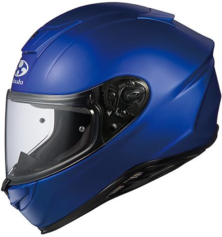 エアロブレードファイブ フルフェイスヘルメット フラットブルー Mサイズ OGK