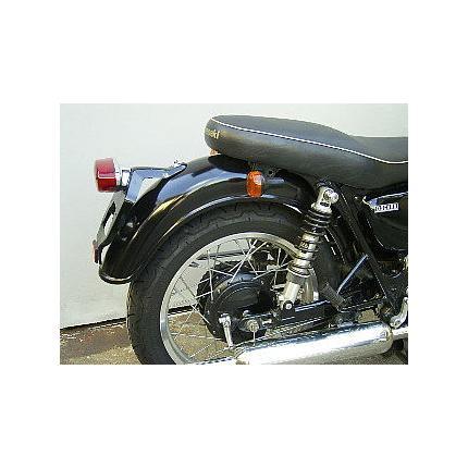 リアフェンダータイプC黒ゲル OSCAR(オスカー) W650