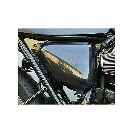 スリムサイドカバー左右セット黒ゲル OSCAR(オスカー) W400