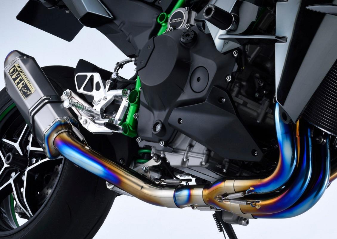 Ninja H2(15年) TT-Formula RS レーシングチタン 4-2-1フルエキゾーストマフラー OVER(オーバーレーシング)