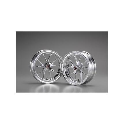 スポーツホイール ポリッシュ 2.50-12/2.75-12 セット OVER RACING(オーバーレーシング) KSR110