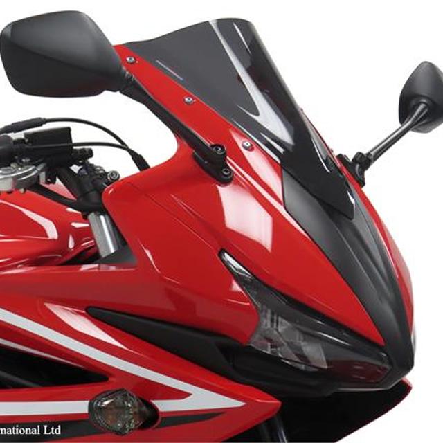 CBR400R(16~17年) スポーツエアフロ-スクリーン ダークスモーク Powerbronze(パワーブロンズ)