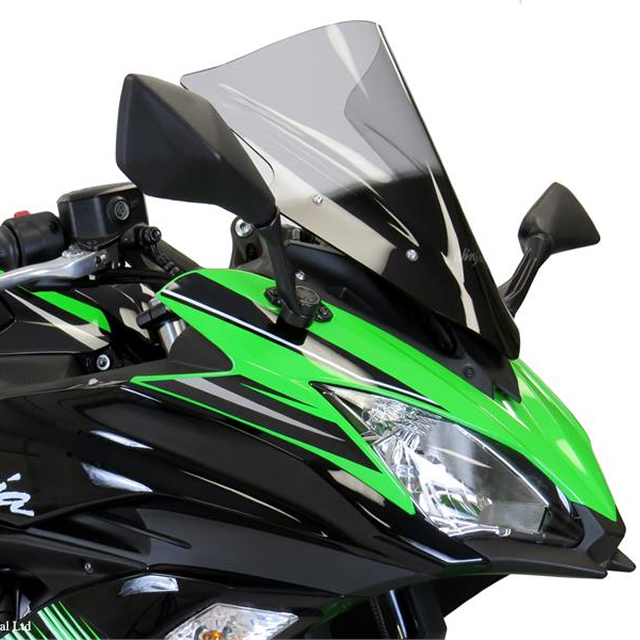 Ninja650(17年) スポーツエアフロ-スクリーン ライトスモーク Powerbronze(パワーブロンズ)