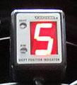 SPI-110 シフトポジションインジケーター汎用本体(12V 5~6速車用) PROTEC(プロテック)