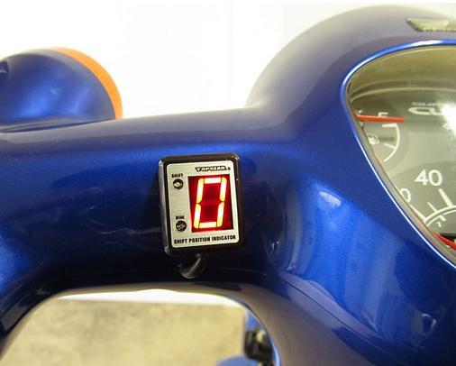 スーパーカブ110(SUPERCUB) SPI-M04 シフトポジションインジケーター車種専用キット PROTEC(プロテック)