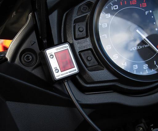 Ninja1000/Z1000SX(ABS車共通)~13年 SPI-K63 シフトポジションインジケーター車種専用キット PROTEC(プロテック)
