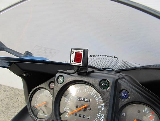 Ninja250R(ニンジャ)08~12年 SPI-K61 シフトポジションインジケーター車種専用キット PROTEC(プロテック)