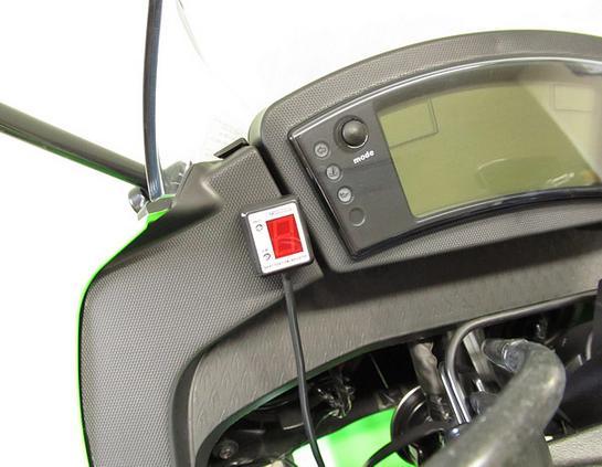 Ninja400R(ニンジャ)11~13年(ABS車共通) SPI-K62 シフトポジションインジケーター車種専用キット PROTEC(プロテック)