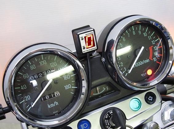 ゼファーχ(ZEPHYR)01年~ SPI-K67 シフトポジションインジケーター車種専用キット PROTEC(プロテック)