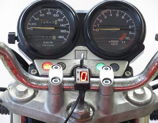 CB750(92~03年)ワイヤー式メーター車 SPI-H04 シフトポジションインジケーター車種専用キット PROTEC(プロテック)