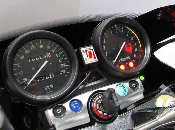ZRX1200R(07~08年) SPI-K70 シフトポジションインジケーター車種専用キット PROTEC(プロテック)